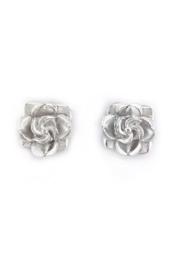 Tuleste market Rosette Stud Earring Rent the Runway