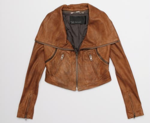 Yigal Azrouel Leather Jacket