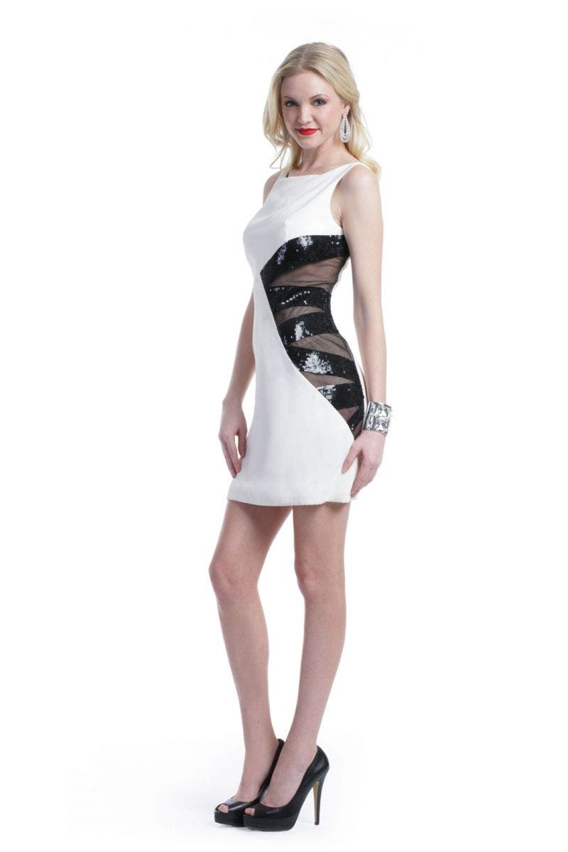 Angel Sanchez Shaken Not Stirred Dress
