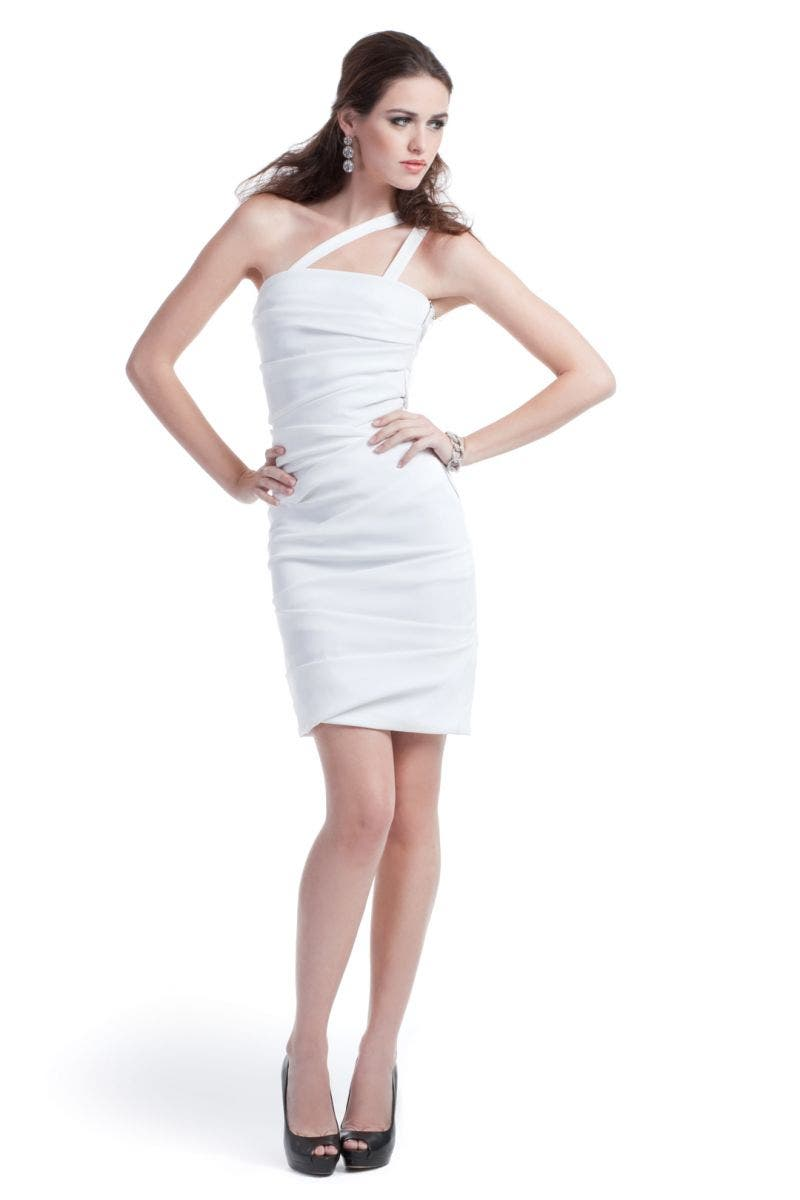 Preen White Storm Dress