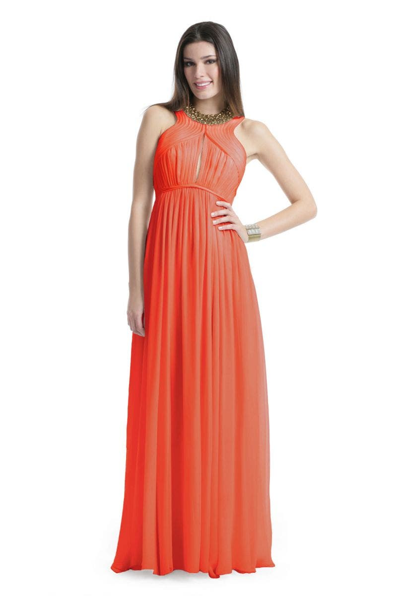 Robert Rodriguez Orange Slice Dress