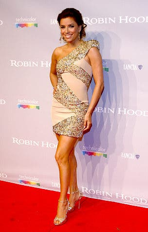 Eva Longoria in Gold