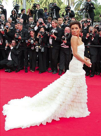 Eva Longoria in White