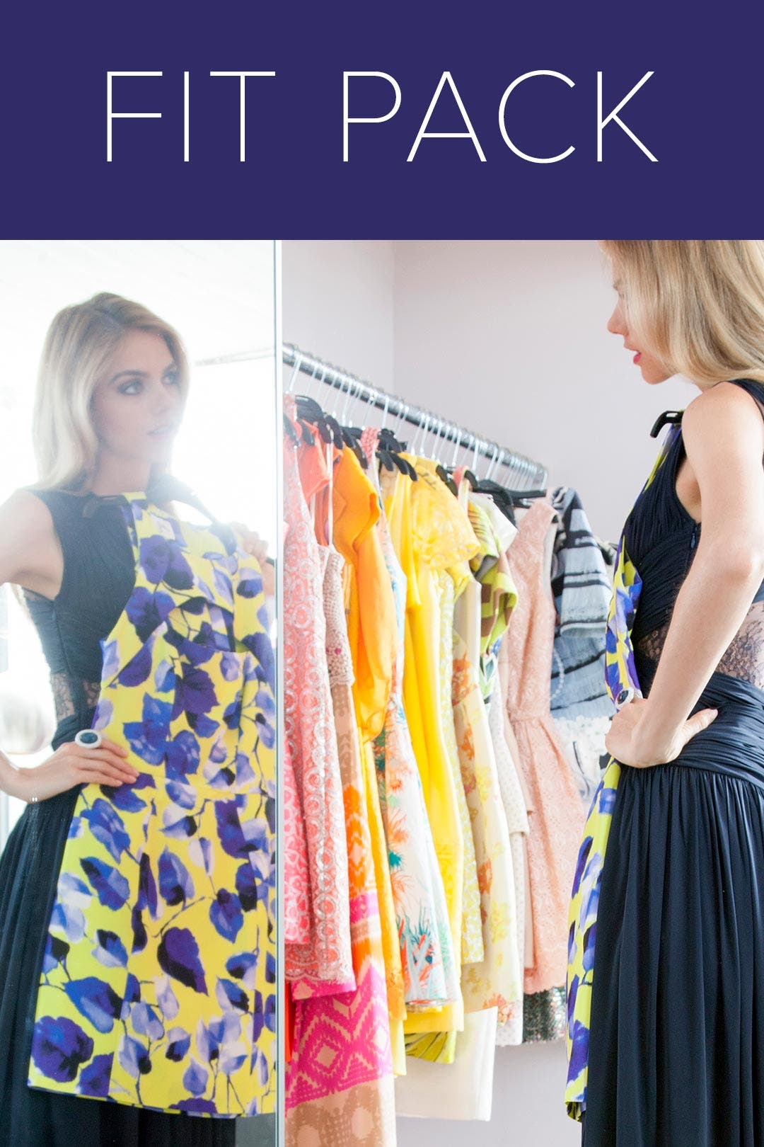 Fit Pack: Try on 3 Dresses by Rent the Runway