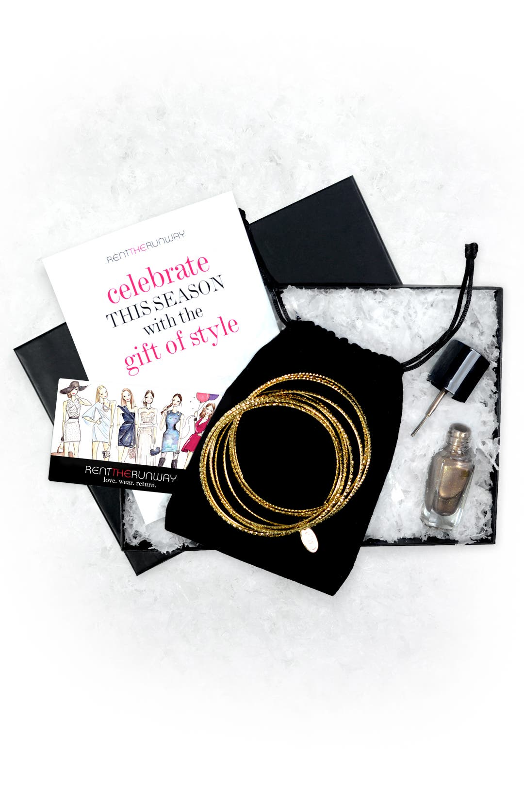 Get Festive Gift Set by Rent the Runway
