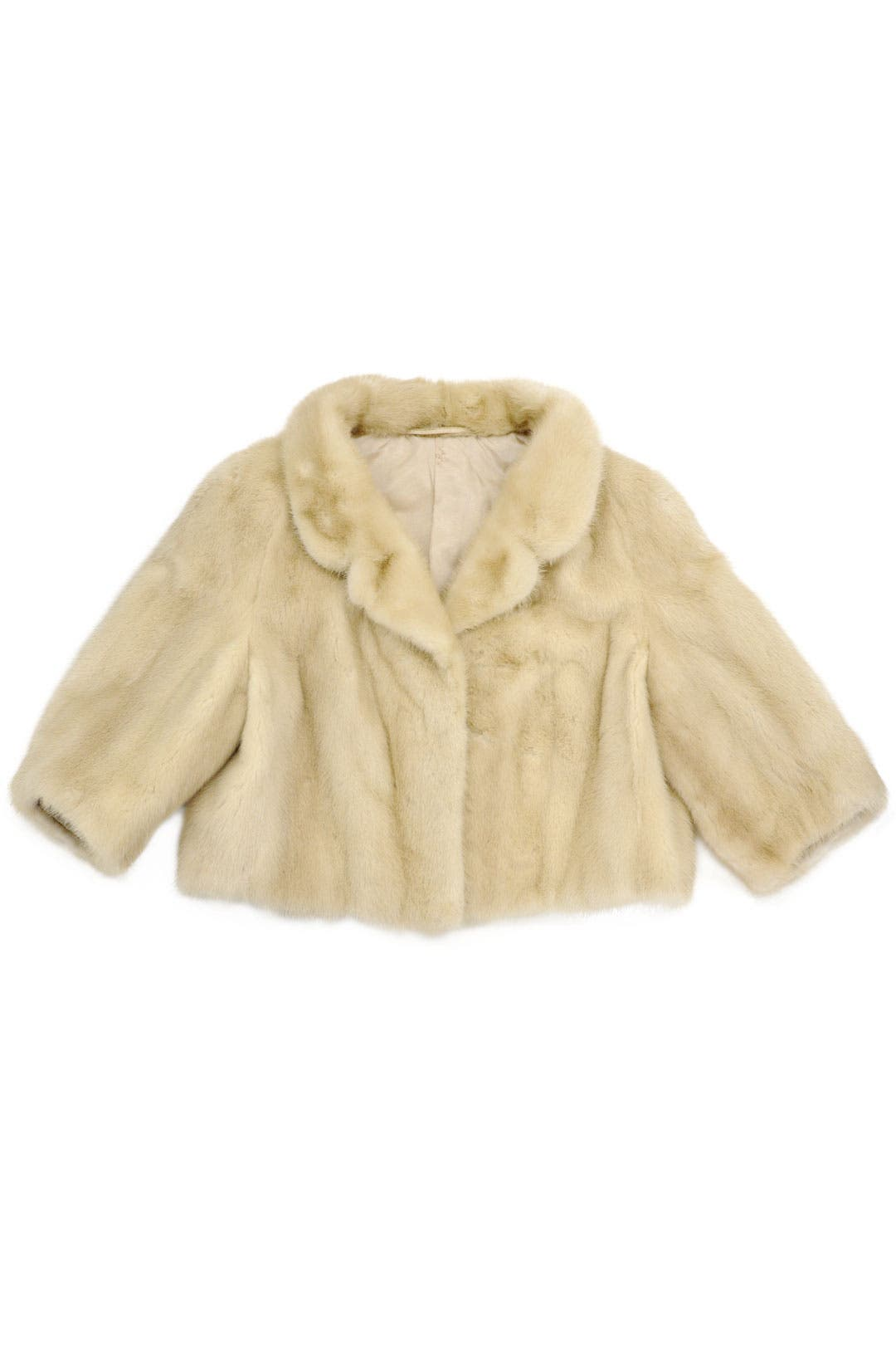Blonde Mink Jacket by Decades Vintage