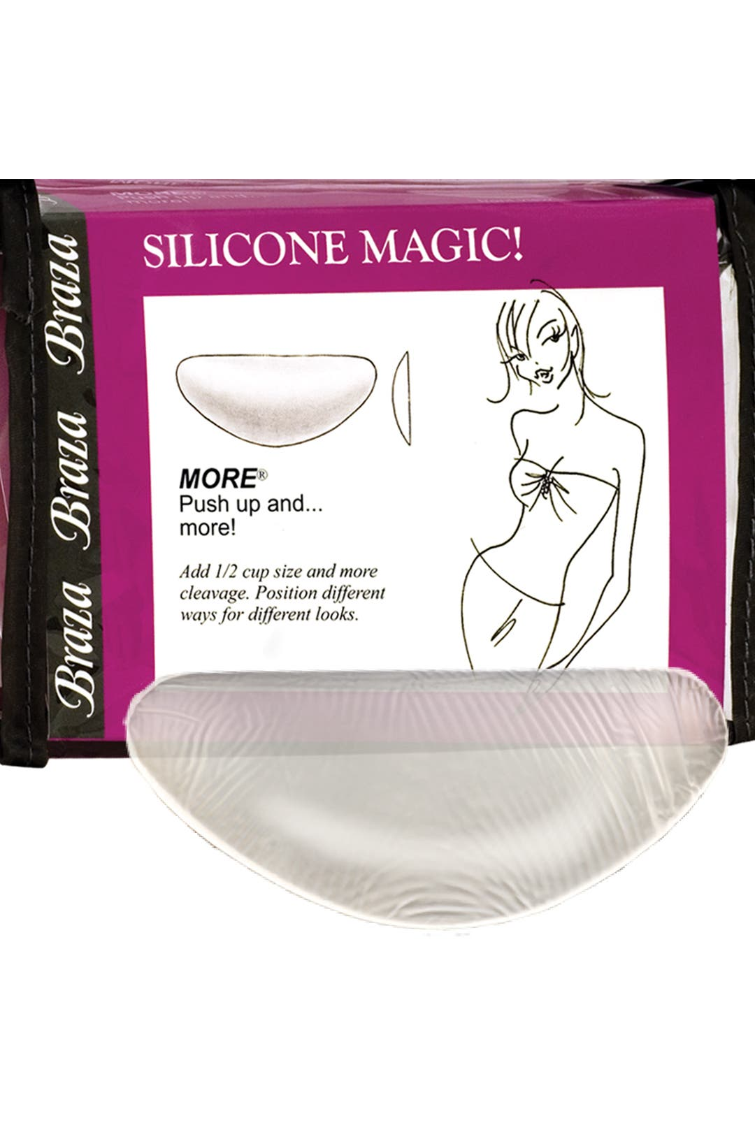 Silicone Magic Push Up Bra Inserts by Braza