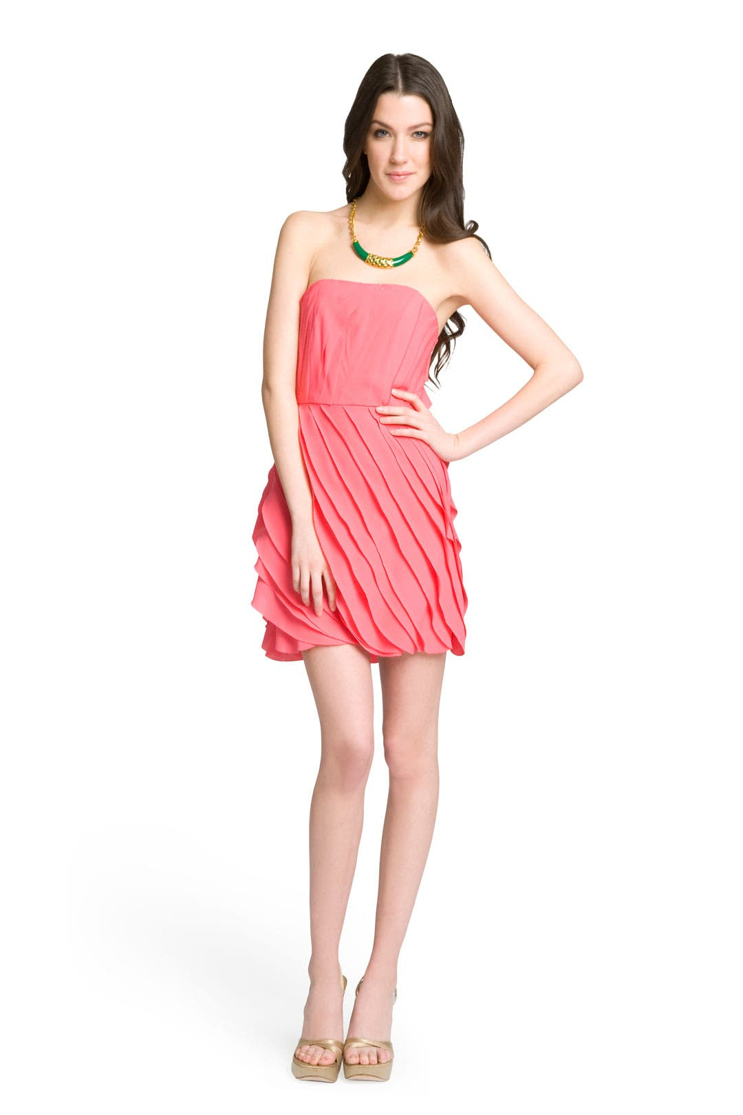 Strapless Layered Dress by ADAM