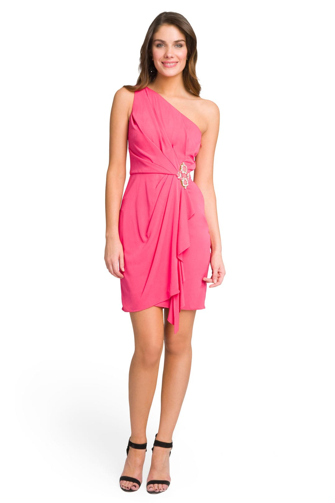 Mega Magenta Dress by Badgley Mischka