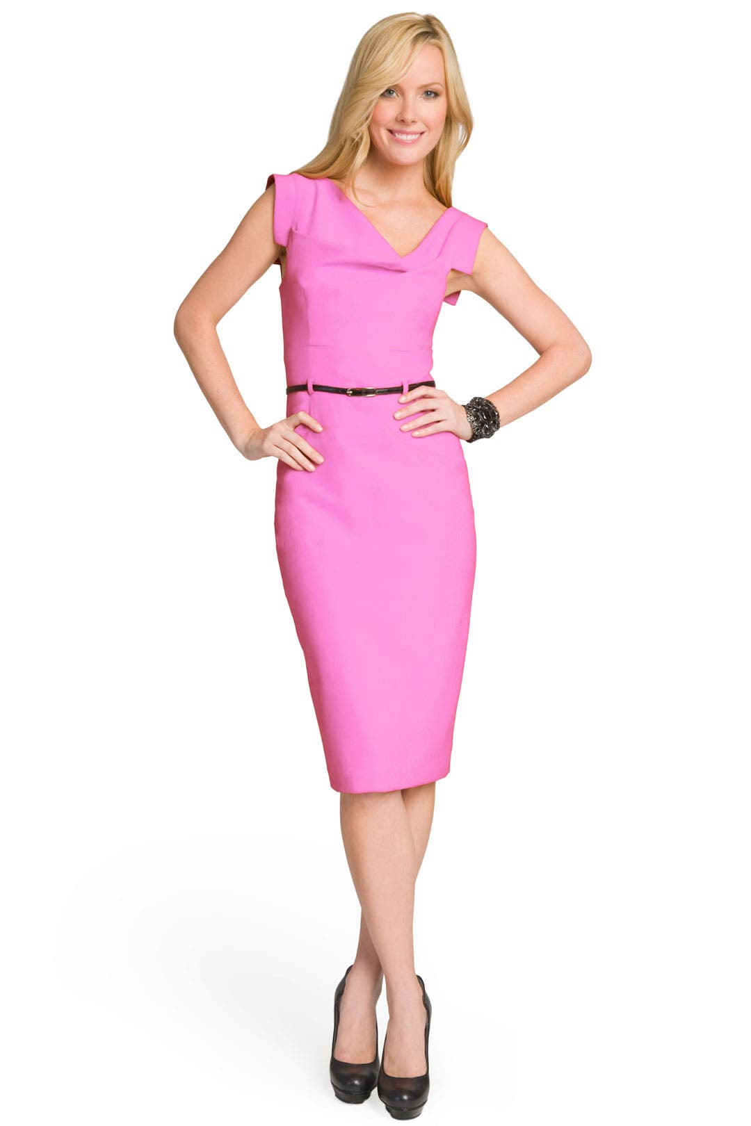 Orchid Jackie O Dress by Black Halo