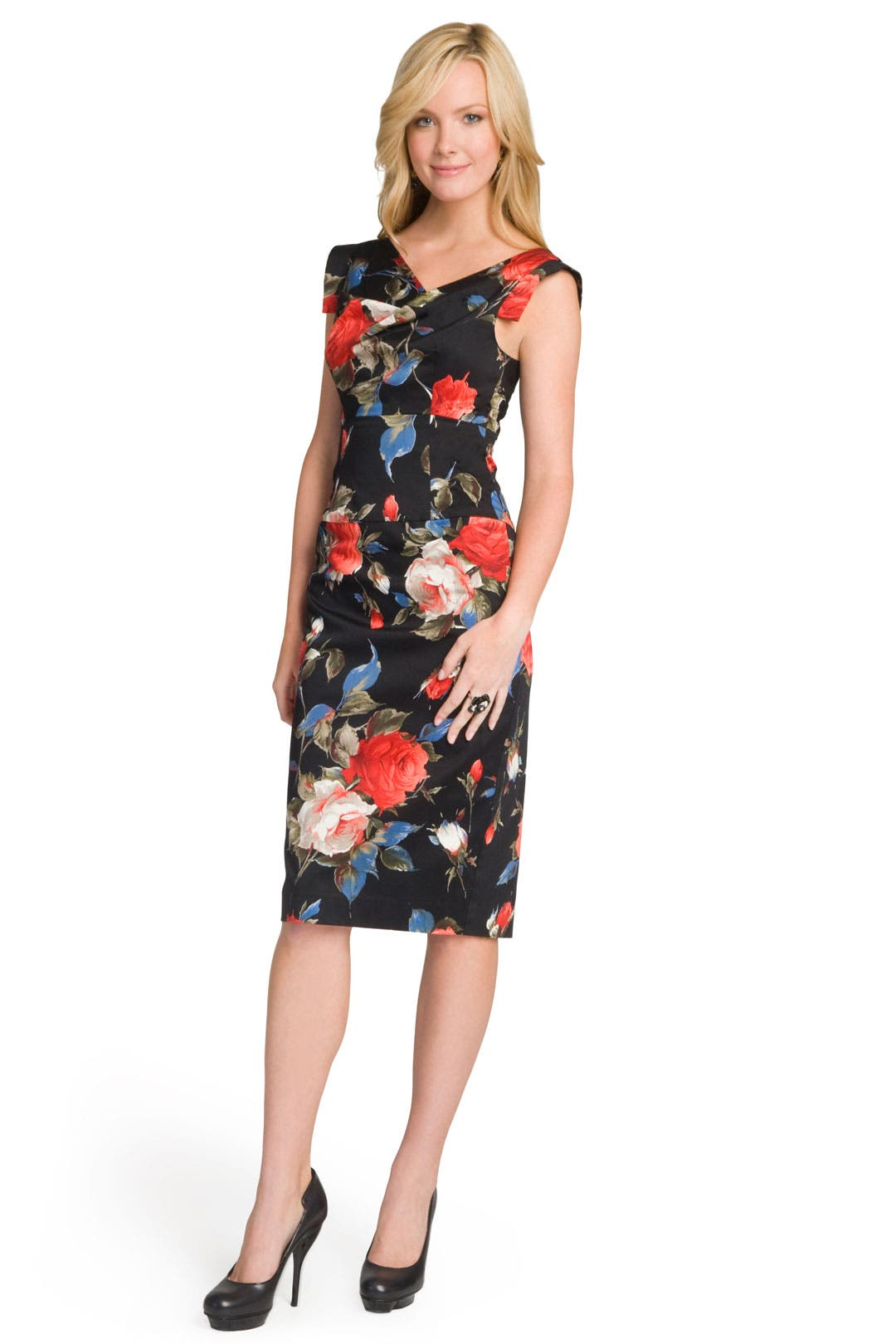 Ready Rose Dress by Black Halo