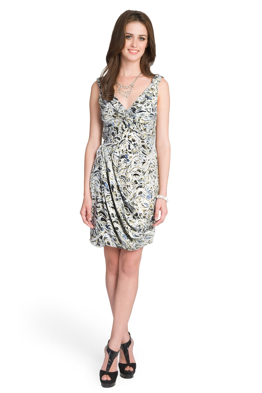Gitan Floral Print Dress by Catherine Malandrino