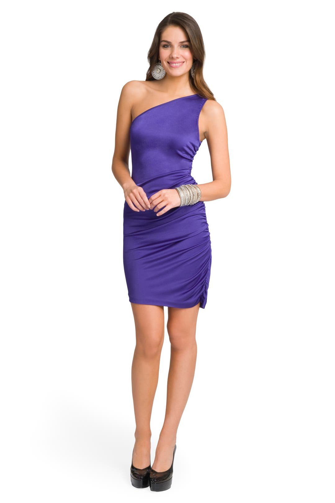 Sizzling Shoulder Dress by Halston Heritage