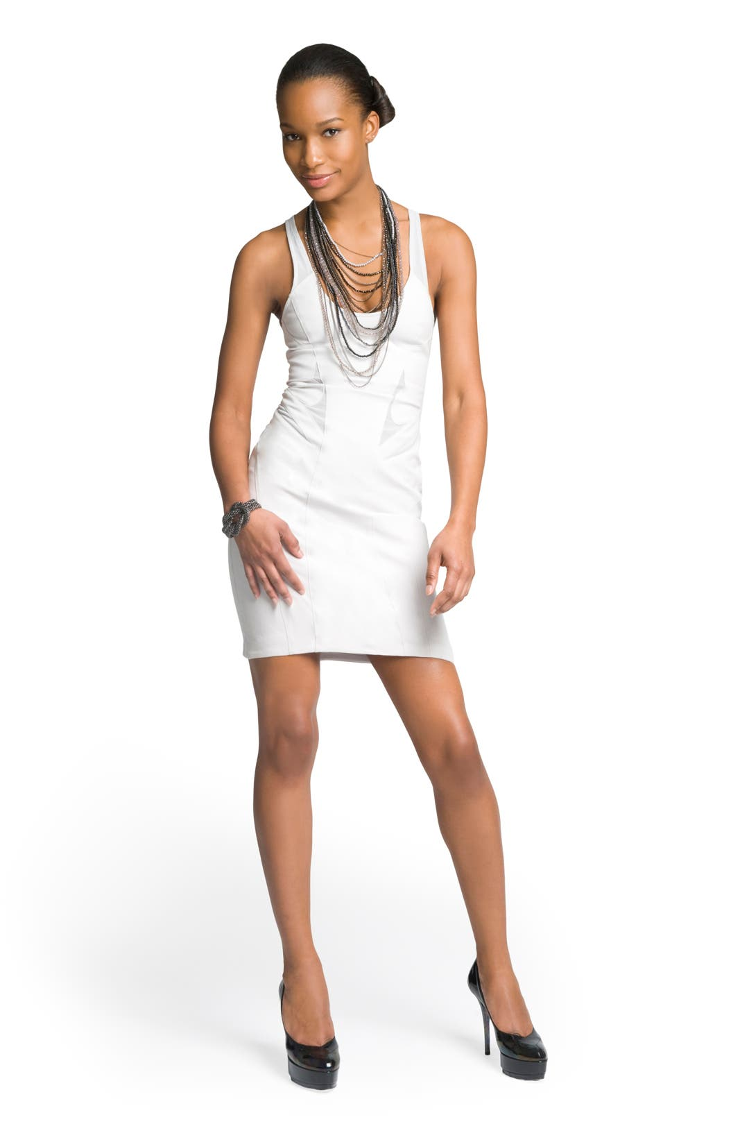 Mesh Tank Dress by Helmut Lang