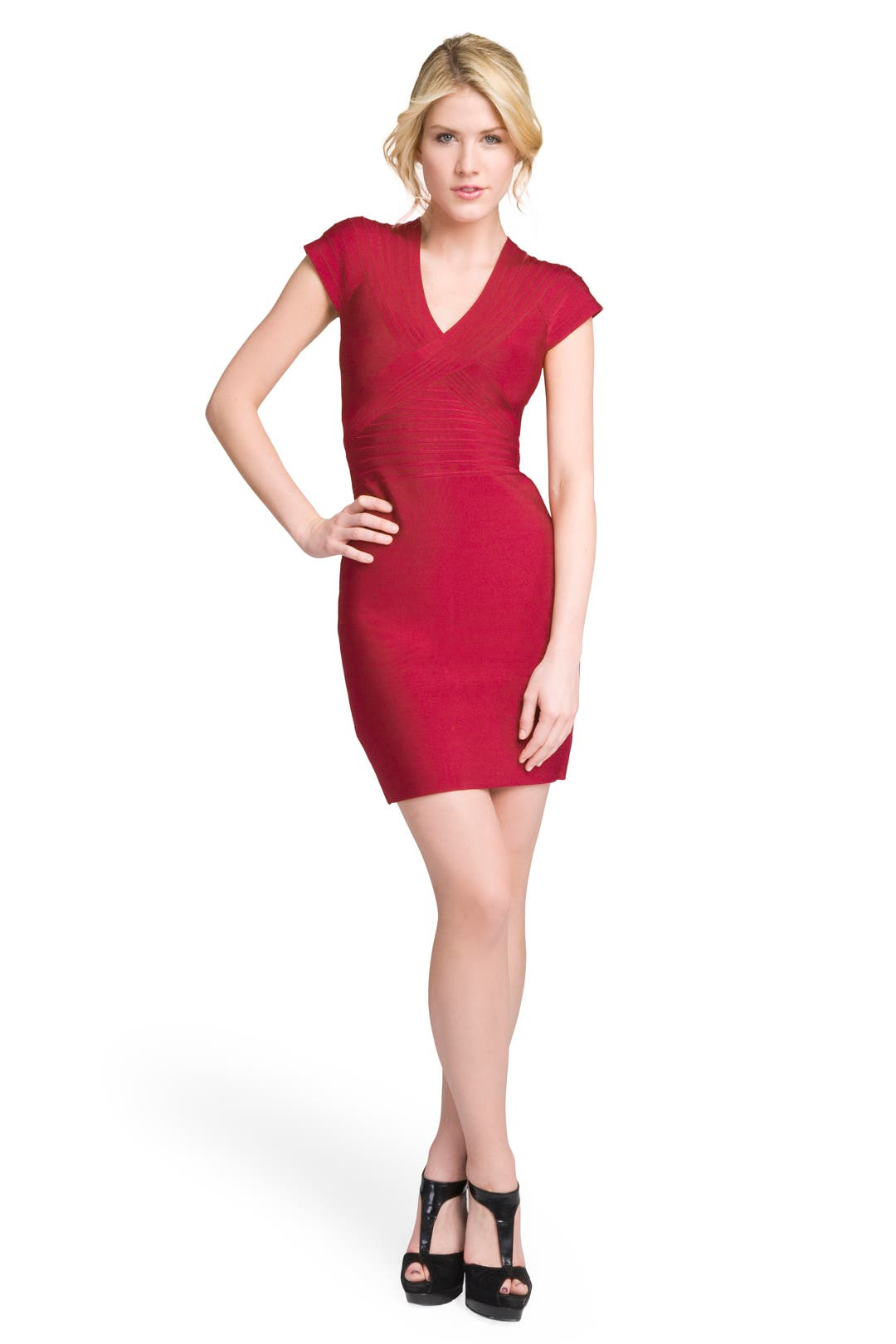 Hot Tamale Bandage Dress by Hervé Léger