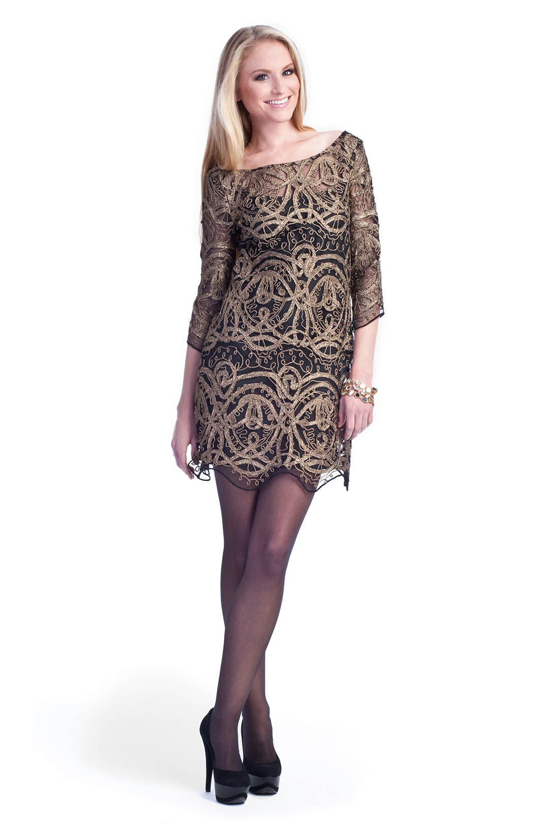Vintage Lace Dress by LaROK