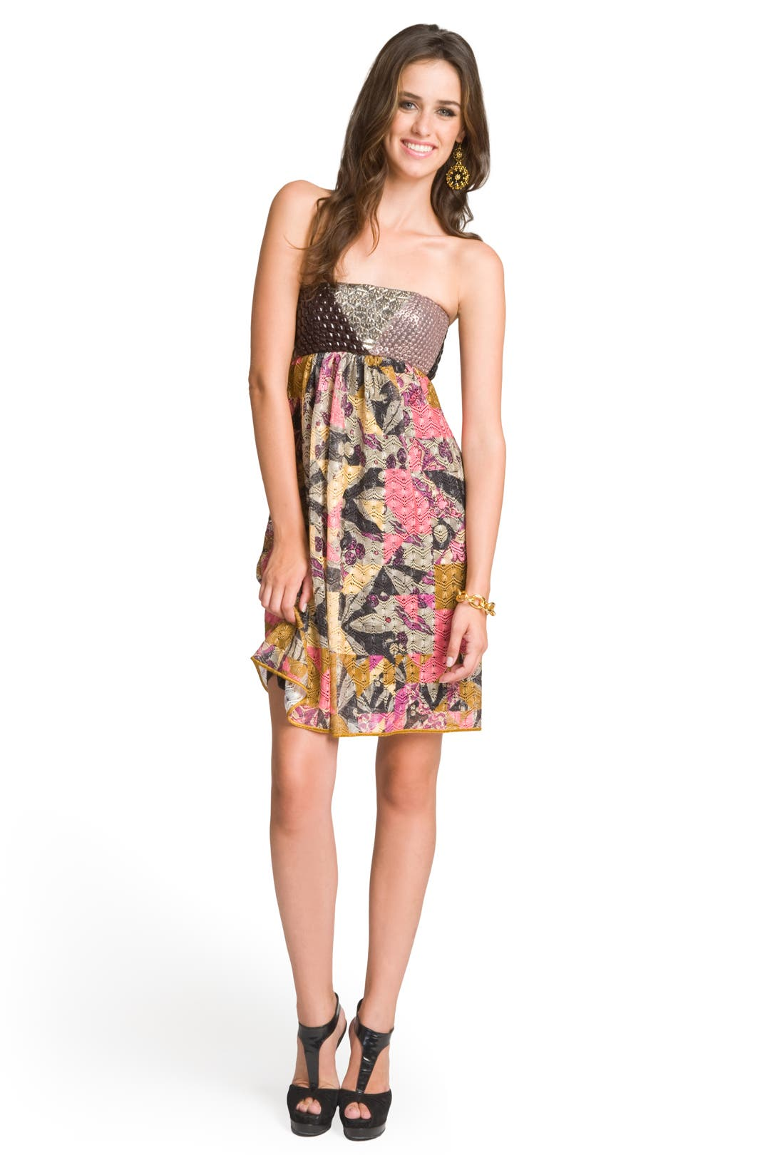 Beaded Patchwork Wonder Dress by Missoni