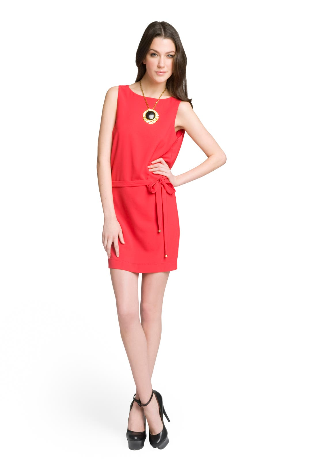 Draped Back Dress by Moschino Cheap And Chic