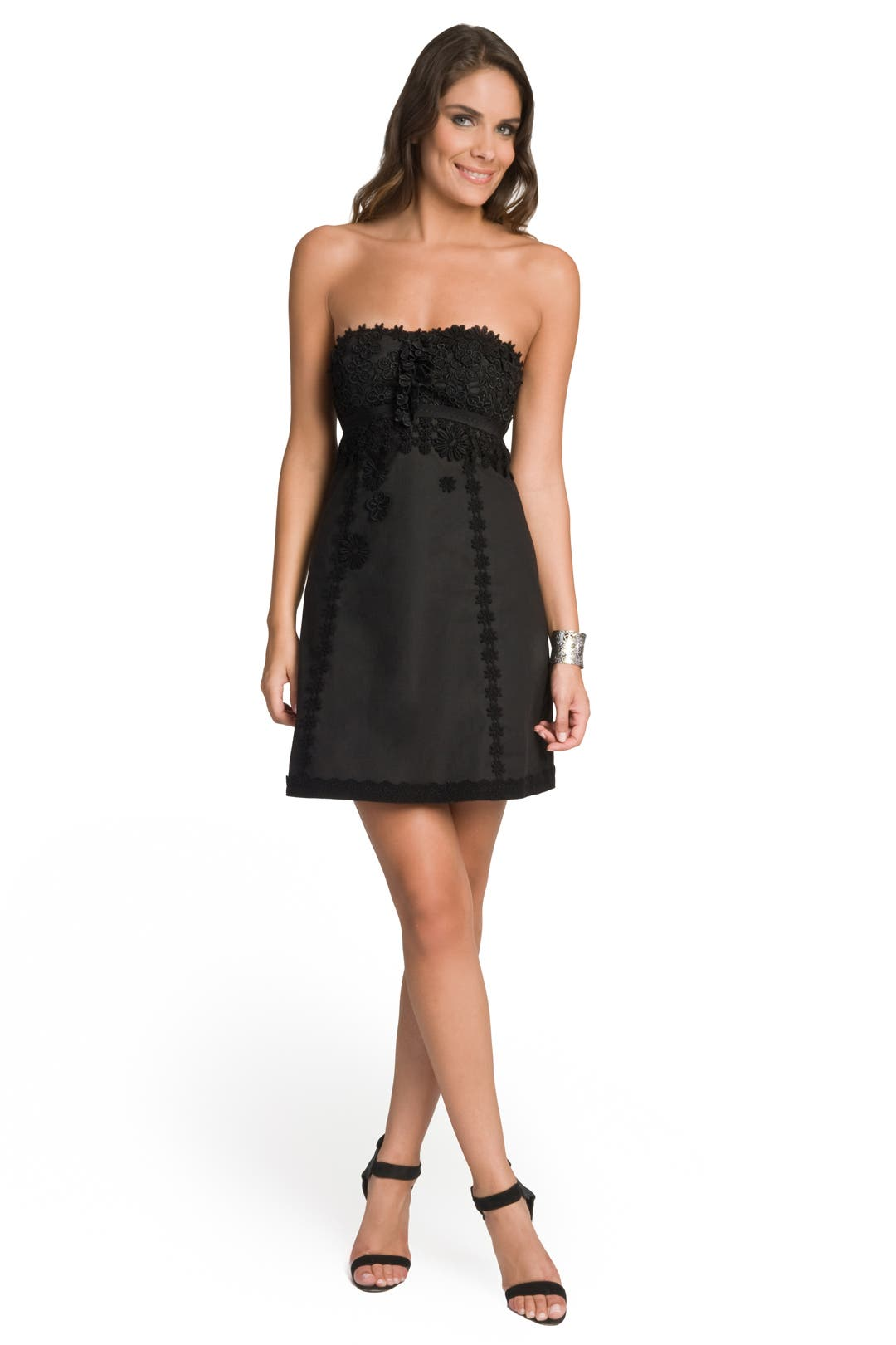 Embellished Strapless Dress by Moschino Cheap And Chic