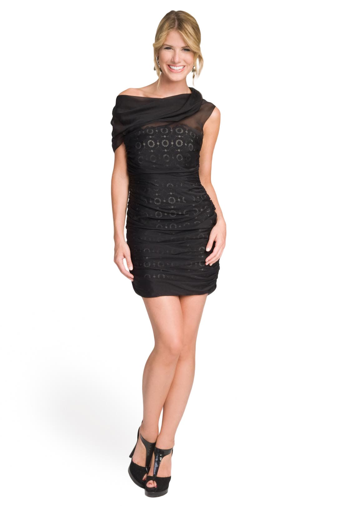 Lacey Cowl Dress by Moschino Cheap And Chic