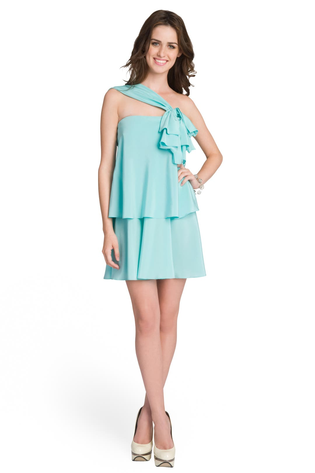 Newly Minted Shoulder Dress by Moschino Cheap And Chic