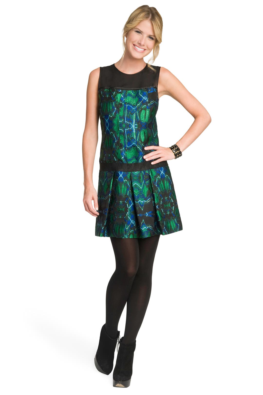 Psychedelic Jacquard Dress by Proenza Schouler