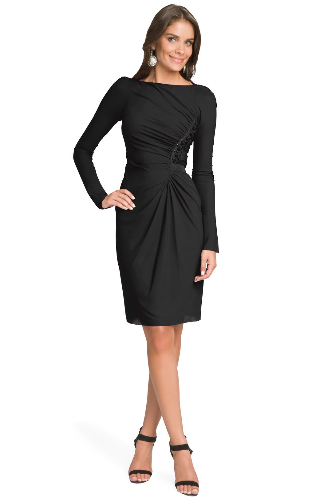 Andrea Lace Up Dress by Rachel Roy