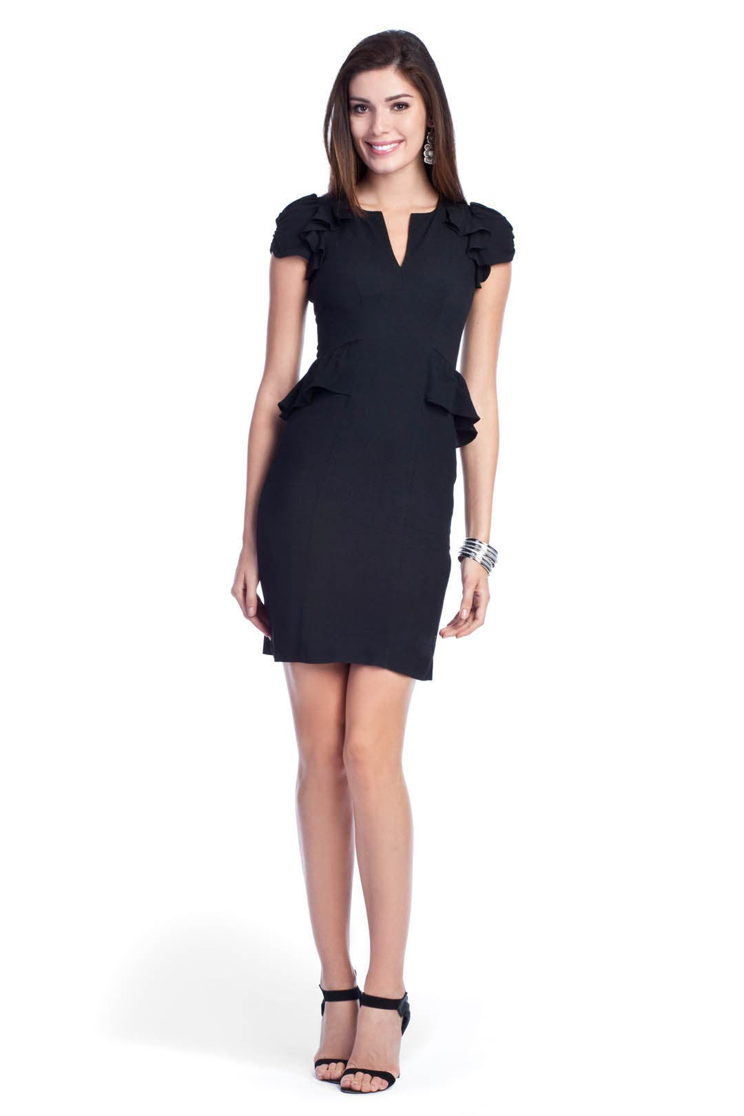 Daria Peplum Dress by Rebecca Taylor