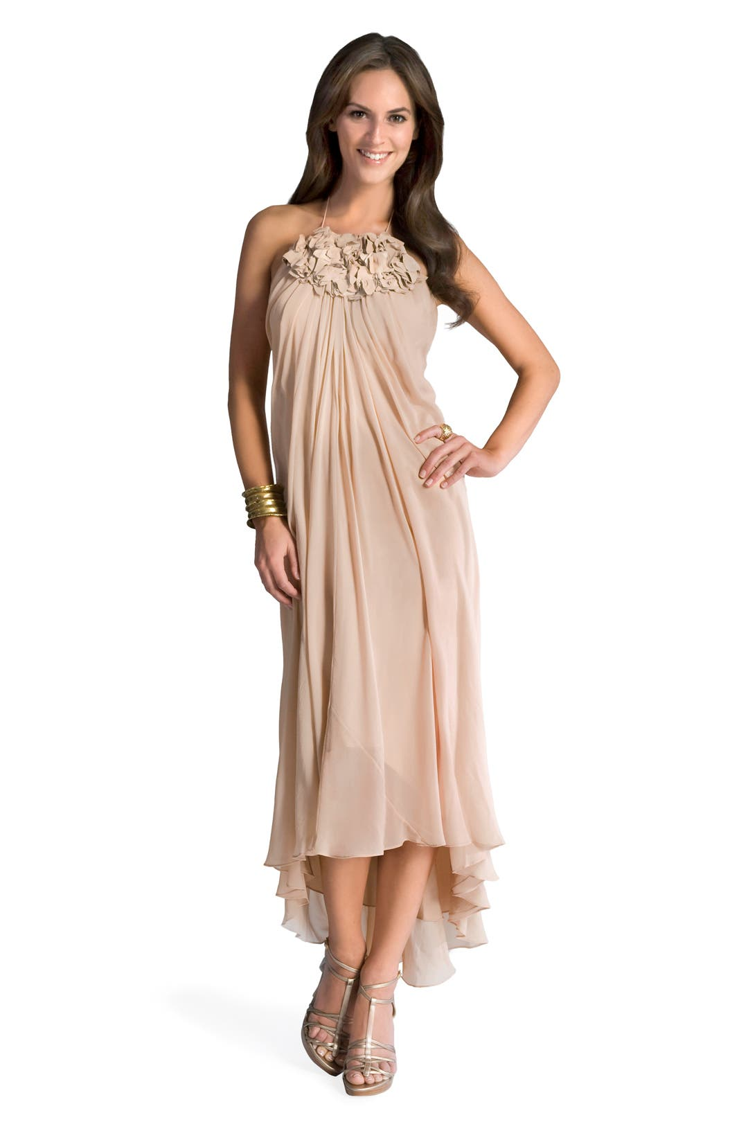 Romantic Rosette Gown by Tibi