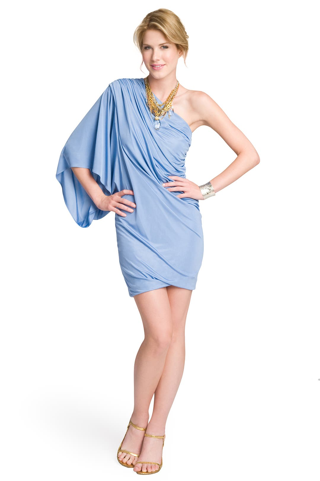 Sky Shoulder Dress by Yigal Azrouël