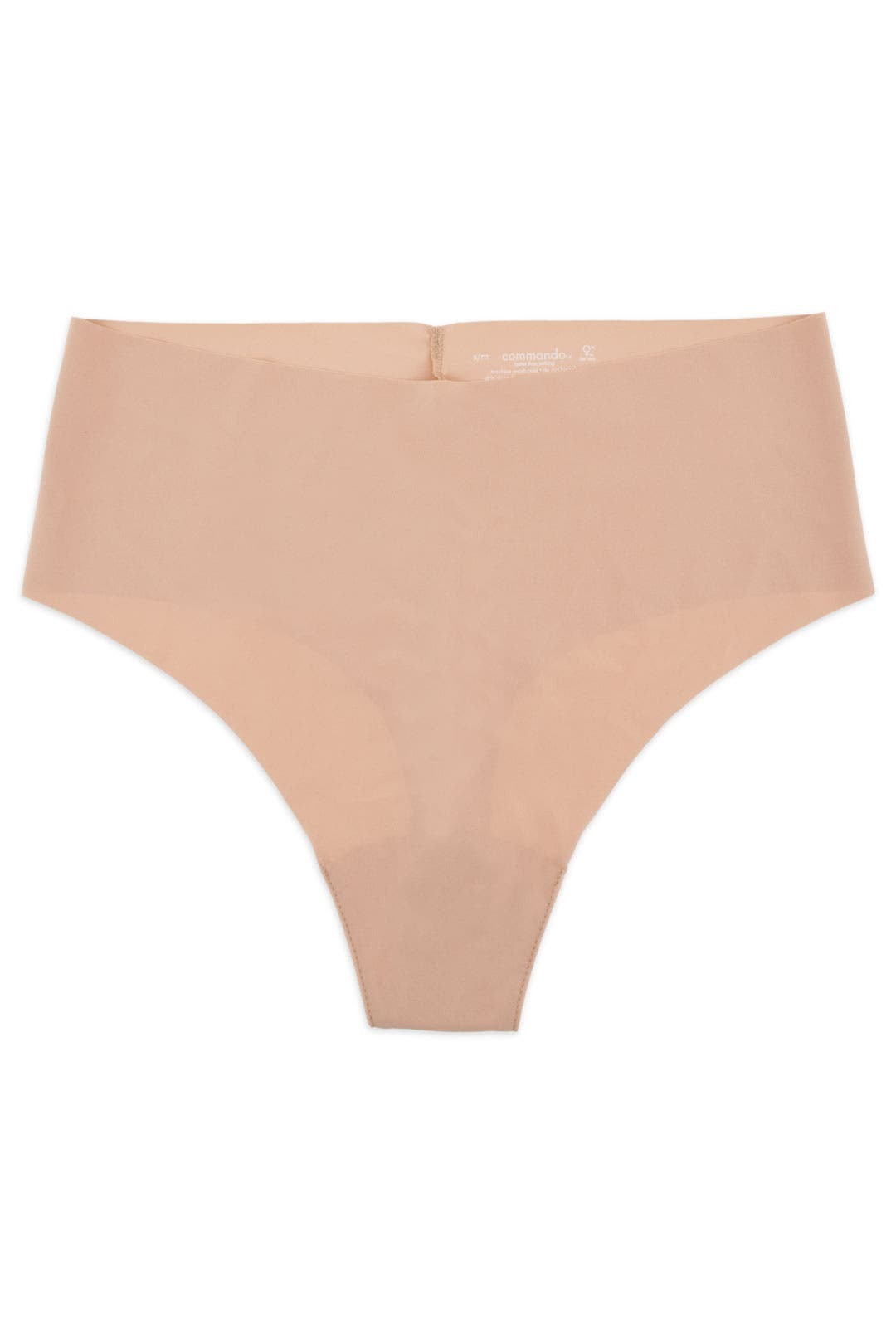 Seamless Nude High Rise Thong by Commando