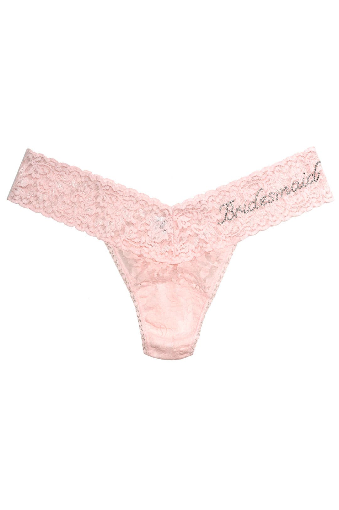 Bridesmaid Low Rise Thong by Hanky Panky