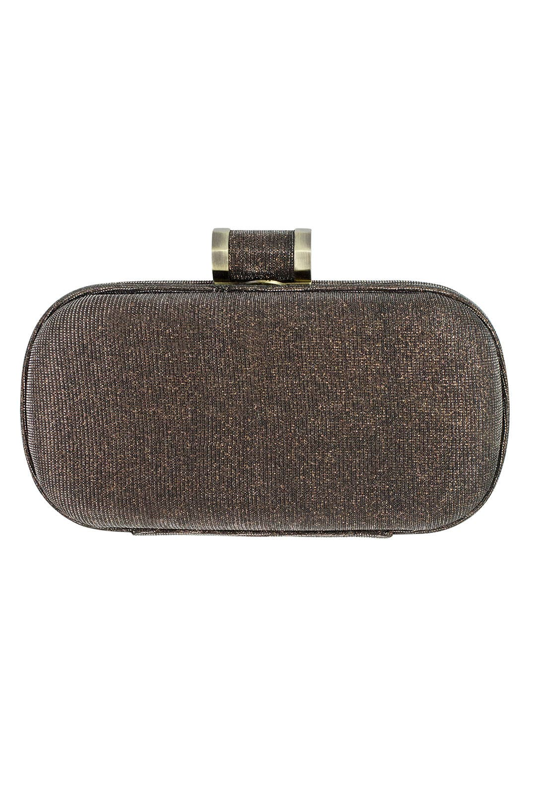 Bronze Spark Clutch by Halston Heritage Handbags