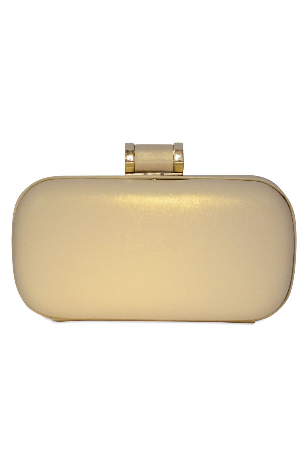 Brushed Gold Clutch by Halston Heritage Handbags