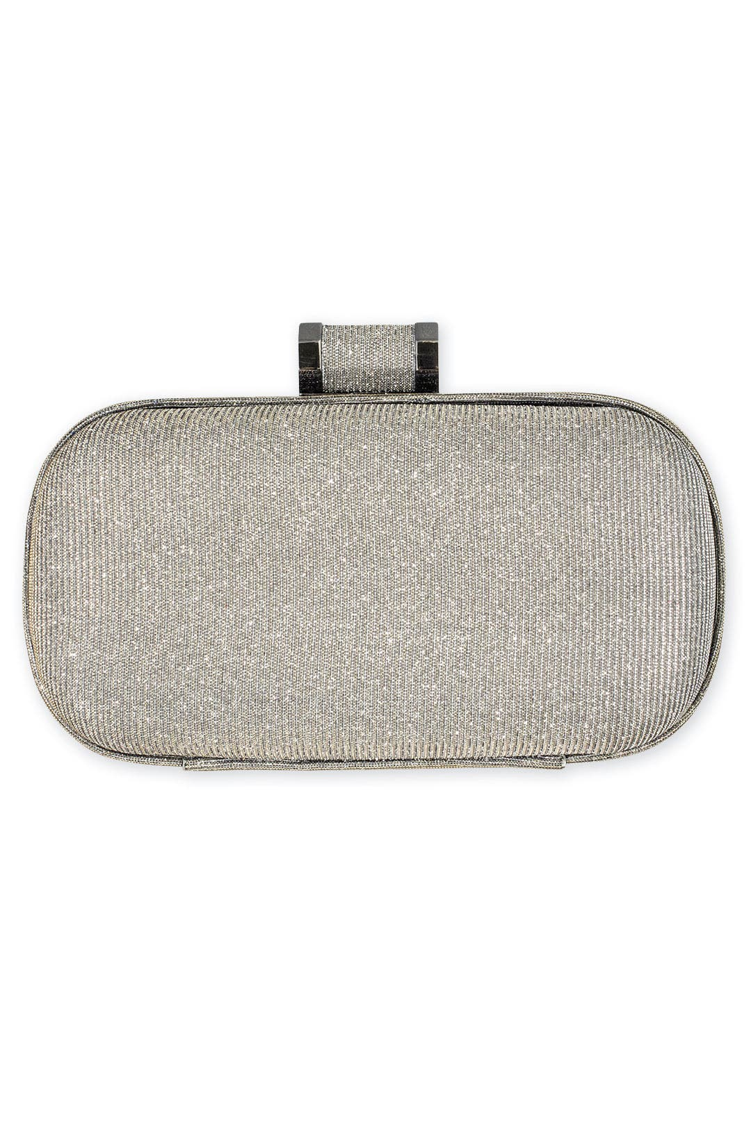 Silver Spark Clutch by Halston Heritage Handbags