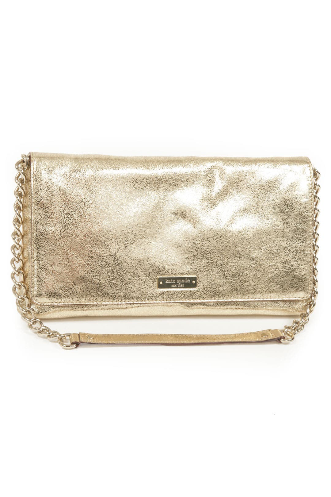 Flicker Gold Monette Clutch by kate spade new york accessories