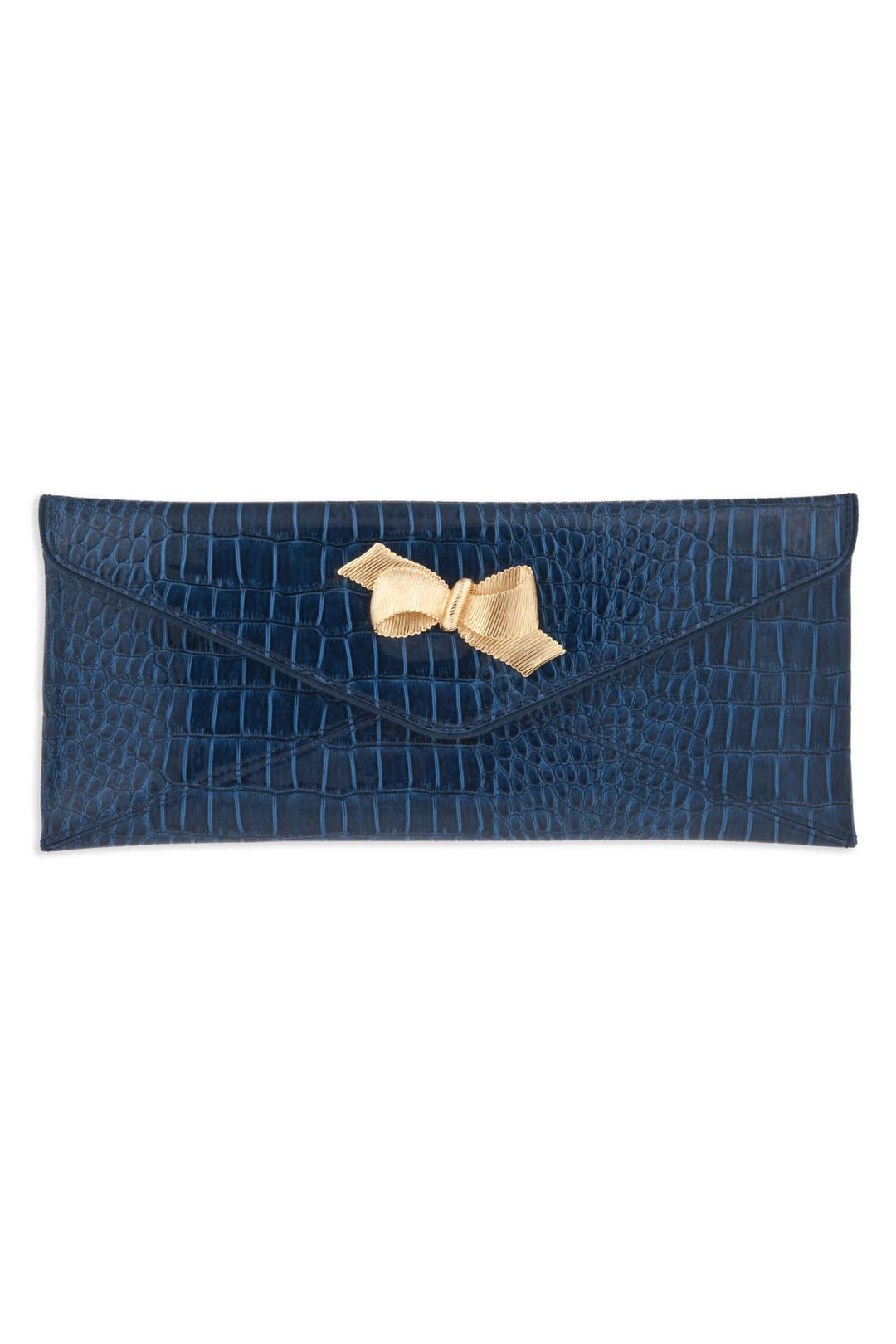 Blue Bow Tie Clutch by Lilly Pulitzer Handbags
