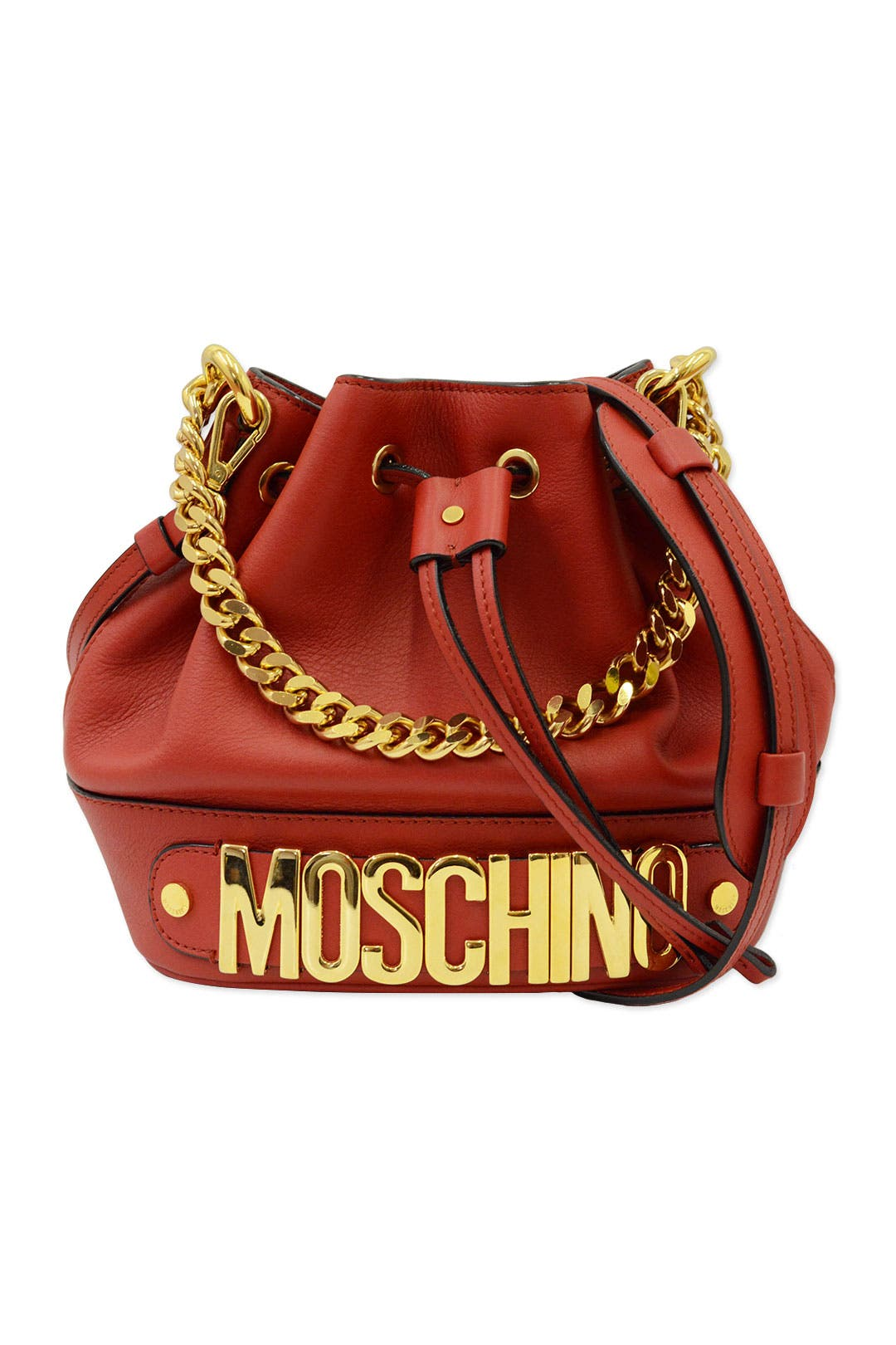 Rouge in Love Shoulder Bag by Moschino Accessories