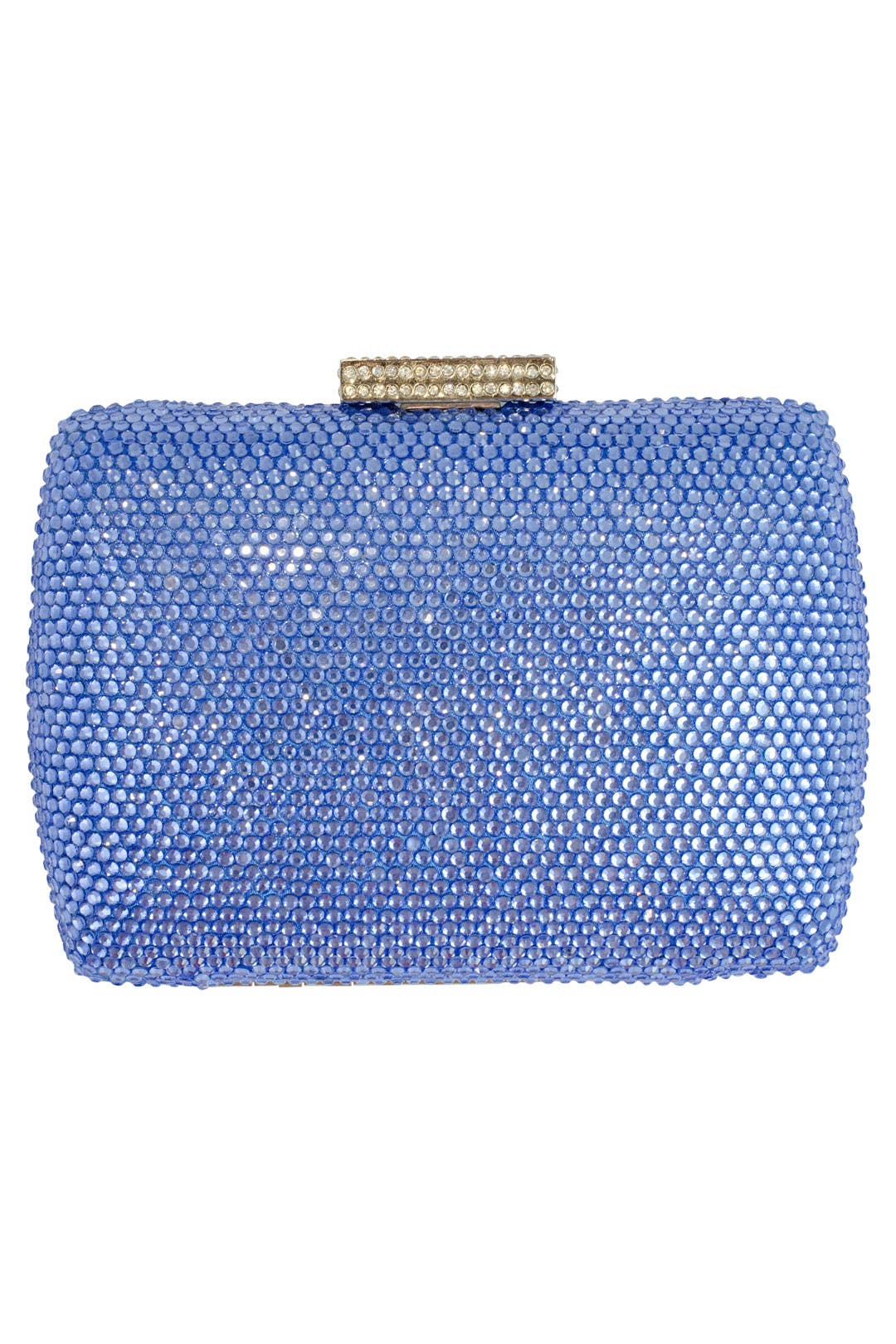 Long Island Blue Minaudiere by Serpui Marie