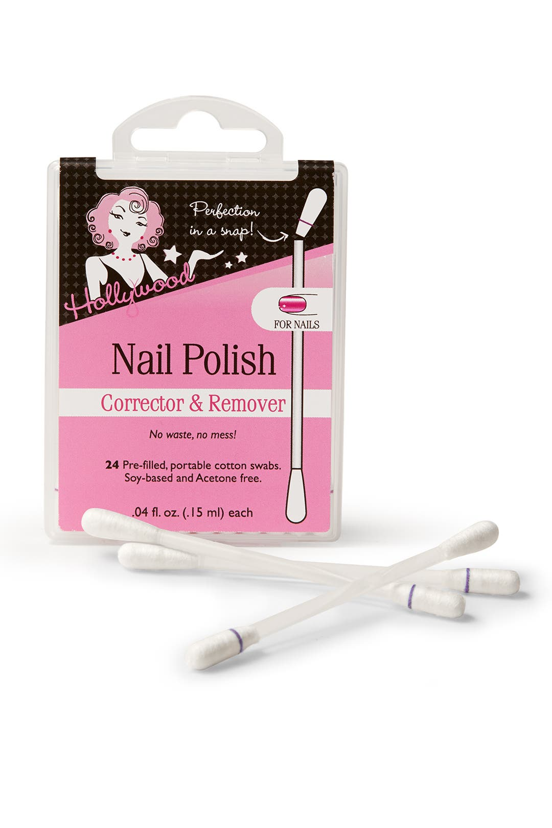 Nail Polish Corrector and Remover by Hollywood Fashion Tape