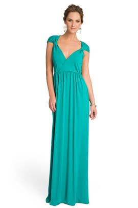 Alice by Temperley - Enchanting Emerald Gathered Gown
