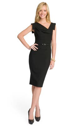 Black Halo - Black Jackie O  Dress
