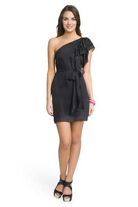 Milly - Pretty Belted Ruffle Dress