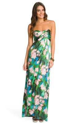 Nicole Miller - Rainforest Maxi Dress