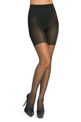 Spanx - Black Super Shaping Sheers