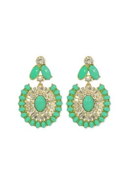 kate spade new york accessories - Bright Beryl Earrings