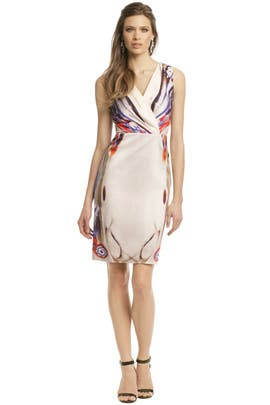 Alberta Ferretti - Color Warped Sheath