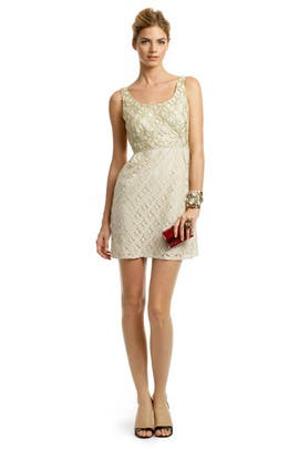 Anna Sui - Creme Brulee Scoop Dress