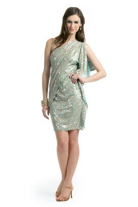 Badgley Mischka - Aqua Wonder Dress