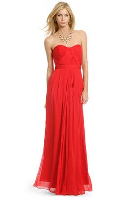Badgley Mischka - Faye Chiffon Gown